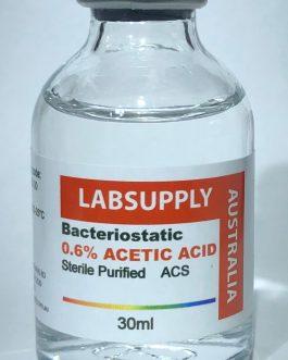 BACTERIOSTATIC 0.6% ACETIC ACID STERILE – BACTERIA-FREE, SUPER REFINED