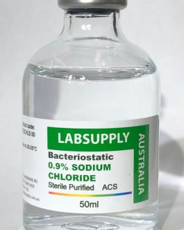 BACTERIOSTATIC 0.9% SODIUM CHLORIDE STERILE – BACTERIA-FREE, SUPER REFINED