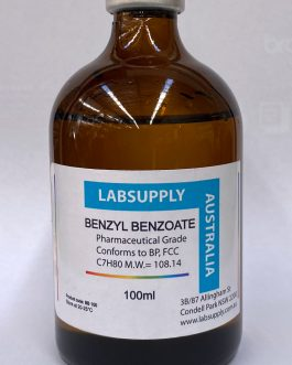 BENZYL BENZOATE 99.8% min.FCC Pharmaceutical Grade – BP Crystal clear