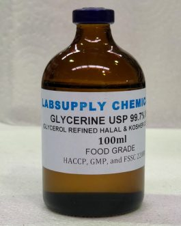 GLYCERINE (GLYCEROL) 99.7%MIN USP/BP FOOD GRADE REFINED CLEAR PURE